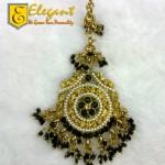 Elegant Maang Tikka And Jhumar For Girls