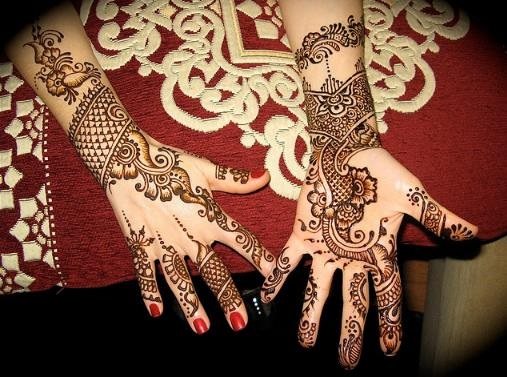 Mehndi Flower Image : Persian mehndi flower design for bridals fashionstylecry bridal