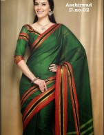 Rashmee Saree With Embroidery With Matching Blouse