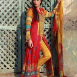 Shariq Dress Summer Print Four Piece Collection