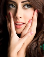 Ainy Jaffri's Makeup Shoot by NKF Photography