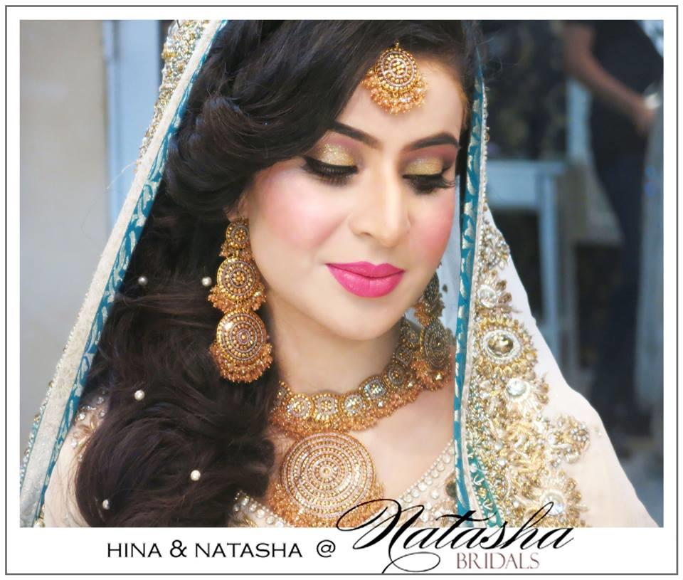 Natasha Makeup Salon Bride 10 | StyleCry Bridal Dresses Women Wear Makeup