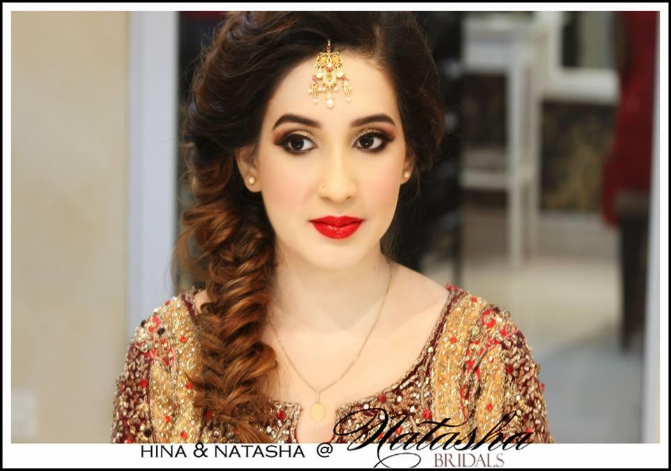 Natasha New Makeup Look Bridesmaid | FashionStyleCry Bridal Dresses Women Wear Makeup