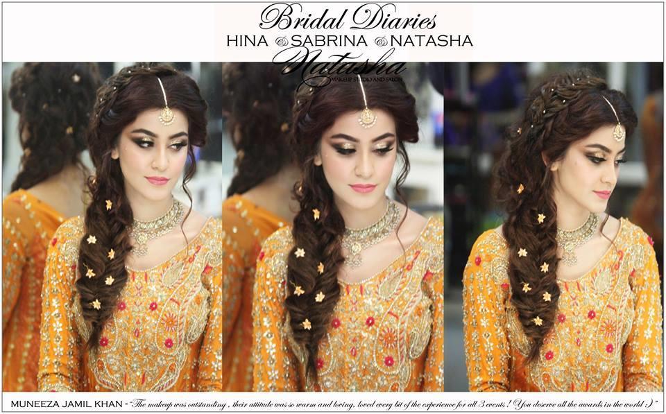 Mehndi Makeup Bridal : Natasha makeup salon bride stylecry bridal dresses women