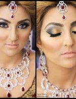 Shimmery Smokey And Glitter Eyes Showed New Styles Makeup