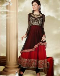 Anushka Frock Dress For Formal Wear