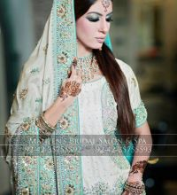 Smokey And Shimmery Makeup By Maheen Bridal Salon