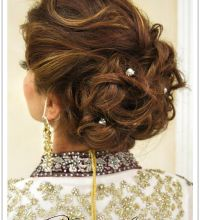 Natasha Salon Bridal Wedding Season Hairstyles Lookbook