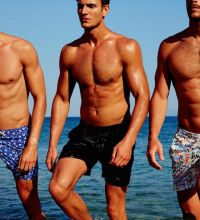 Swimming And Beach Printed Shorts For Men